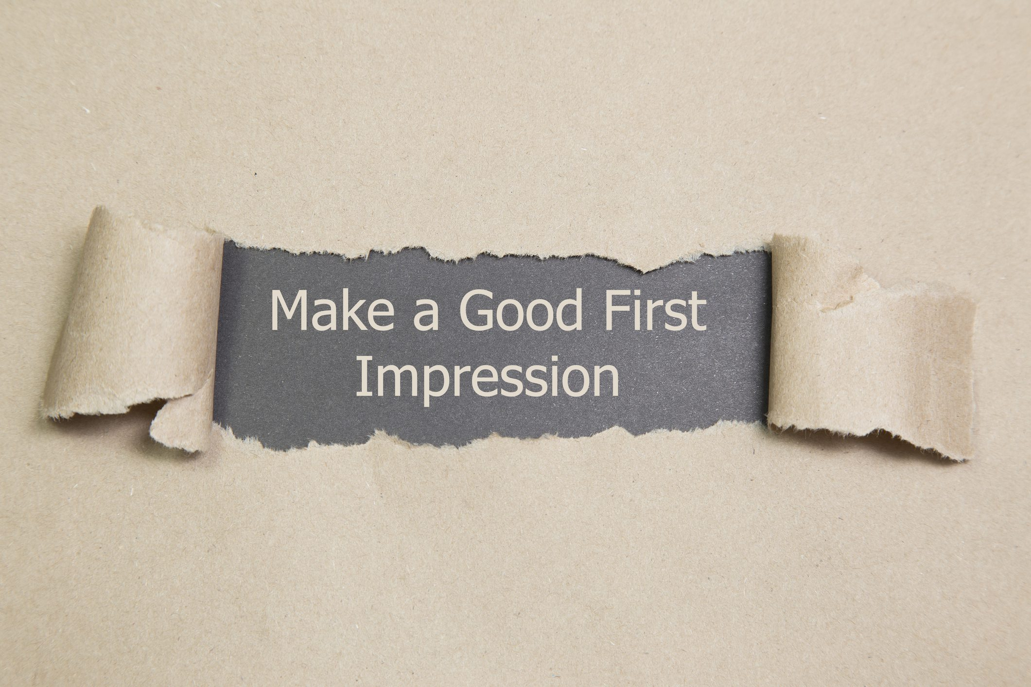 How to make a good first impression Spectrum Strategies